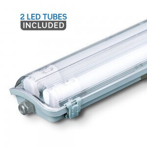V-TAC 120CM LED Waterproof Lamp Fitting
