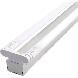 V-TAC 60CM LED Double Batten Fitting