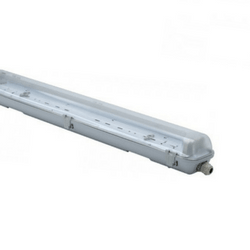 2ft, 4ft & 5ft Twin IP65 Non Corrosive fitting
